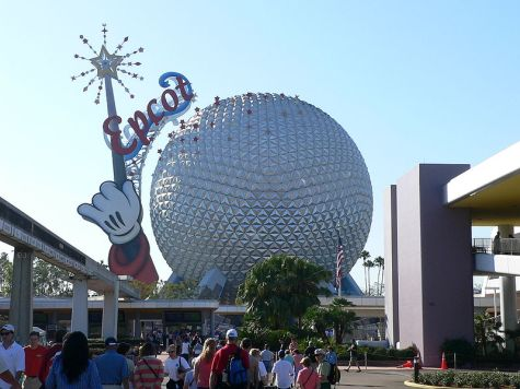 Epcot Ball, Disney World, Orlando FL
