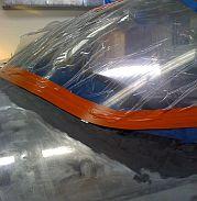 Fiberglass prep - windscreen